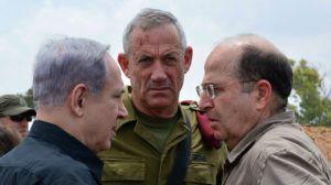 2014_Netanyahu_Gantz_Gaza