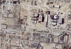 - PHOTO TAKEN 28FEB04 - Satellite image shows the nuclear facility at Bushehr, Iran, on February 28,..